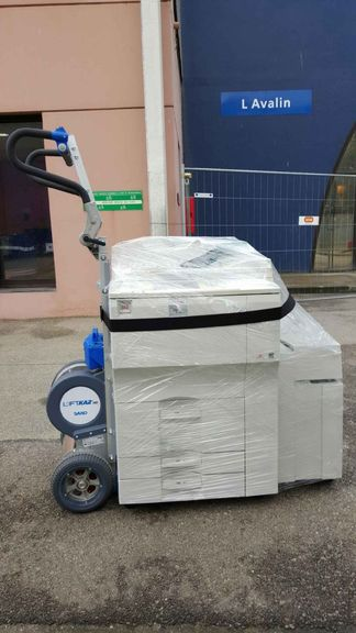 Printer machine delivery