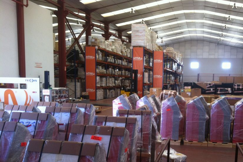 HTM high tech warehouse