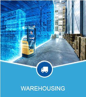 High tech warehousing